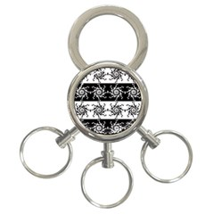 Three Wise Men Gotham Strong Hand 3-Ring Key Chains
