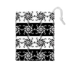 Three Wise Men Gotham Strong Hand Drawstring Pouches (Large)