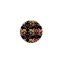 Floral pattern 1  Mini Magnets