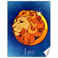 Zodiac Leo Canvas 18  x 24