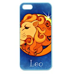 Zodiac Leo Apple Seamless iPhone 5 Case (Color)