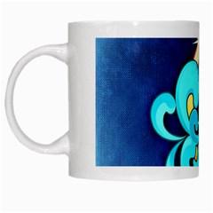 Zodiac Aquarius White Mugs