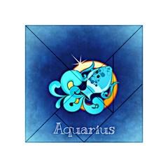 Zodiac Aquarius Acrylic Tangram Puzzle (4  x 4 )