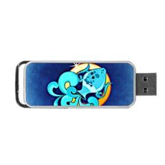 Zodiac Aquarius Portable USB Flash (Two Sides)