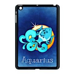 Zodiac Aquarius Apple iPad Mini Case (Black)