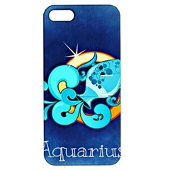 Zodiac Aquarius Apple iPhone 5 Hardshell Case with Stand