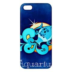 Zodiac Aquarius iPhone 5S/ SE Premium Hardshell Case