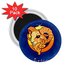 Zodiac Aries 2.25  Magnets (10 pack)