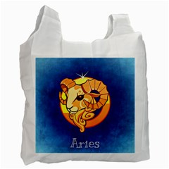 Zodiac Aries Recycle Bag (One Side)