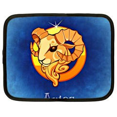 Zodiac Aries Netbook Case (XL)