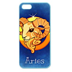 Zodiac Aries Apple Seamless iPhone 5 Case (Color)