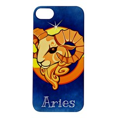 Zodiac Aries Apple iPhone 5S/ SE Hardshell Case