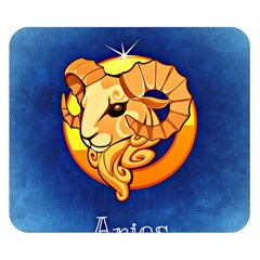 Zodiac Aries Double Sided Flano Blanket (Small)