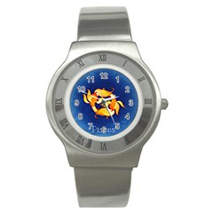 Zodiac Pisces Stainless Steel Watch