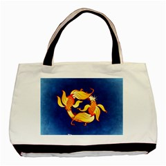 Zodiac Pisces Basic Tote Bag