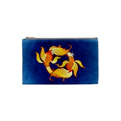 Zodiac Pisces Cosmetic Bag (Small)