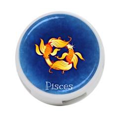 Zodiac Pisces 4-Port USB Hub (One Side)