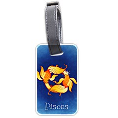 Zodiac Pisces Luggage Tags (Two Sides)