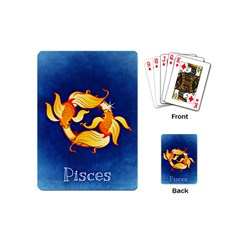 Zodiac Pisces Playing Cards (Mini)