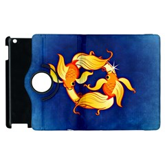 Zodiac Pisces Apple iPad 2 Flip 360 Case