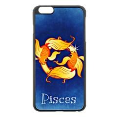 Zodiac Pisces Apple iPhone 6 Plus/6S Plus Black Enamel Case