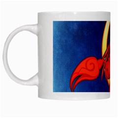 Zodiac Scorpio White Mugs