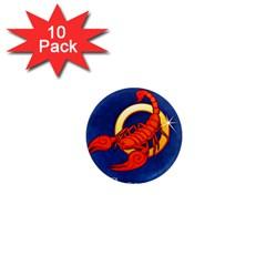 Zodiac Scorpio 1  Mini Magnet (10 pack)