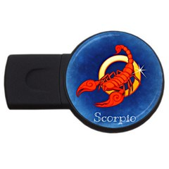Zodiac Scorpio USB Flash Drive Round (2 GB)