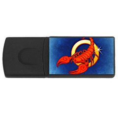 Zodiac Scorpio USB Flash Drive Rectangular (1 GB)