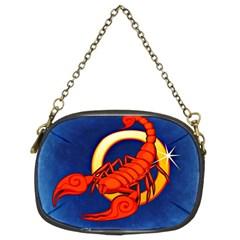 Zodiac Scorpio Chain Purses (Two Sides)