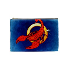 Zodiac Scorpio Cosmetic Bag (Medium)