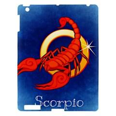 Zodiac Scorpio Apple iPad 3/4 Hardshell Case