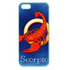 Zodiac Scorpio Apple Seamless iPhone 5 Case (Color)