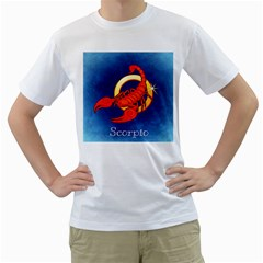 Zodiac Scorpio Men s T-Shirt (White)