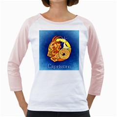 Zodiac Capricorn Girly Raglans