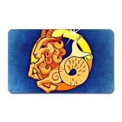 Zodiac Capricorn Magnet (Rectangular)