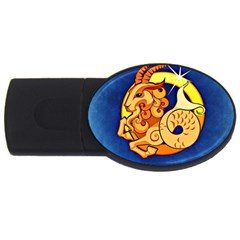 Zodiac Capricorn USB Flash Drive Oval (4 GB)