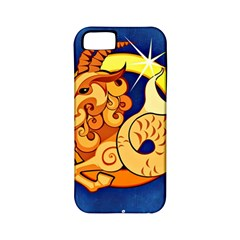 Zodiac Capricorn Apple iPhone 5 Classic Hardshell Case (PC+Silicone)