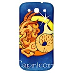 Zodiac Capricorn Samsung Galaxy S3 S III Classic Hardshell Back Case Front