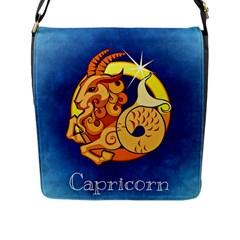 Zodiac Capricorn Flap Messenger Bag (L)