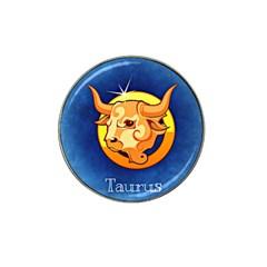 Zodiac Taurus Hat Clip Ball Marker (10 pack)