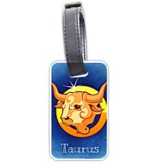 Zodiac Taurus Luggage Tags (One Side)