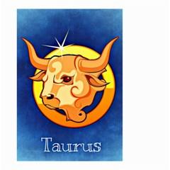 Zodiac Taurus Small Garden Flag (Two Sides)
