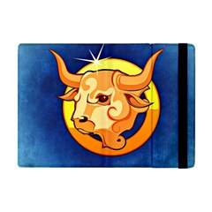 Zodiac Taurus Apple Ipad Mini Flip Case