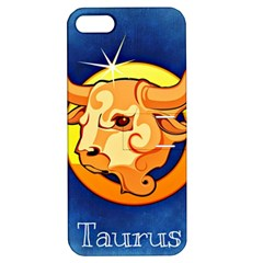 Zodiac Taurus Apple iPhone 5 Hardshell Case with Stand