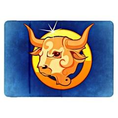 Zodiac Taurus Samsung Galaxy Tab 8.9  P7300 Flip Case