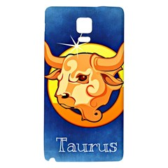 Zodiac Taurus Galaxy Note 4 Back Case