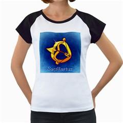 Zodiac Sagittarius Women s Cap Sleeve T