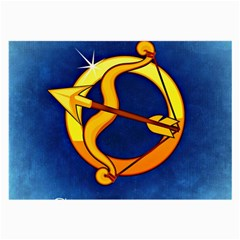 Zodiac Sagittarius Large Glasses Cloth