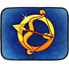 Zodiac Sagittarius Fleece Blanket (Mini)